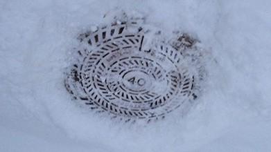 kanalizacia v zime